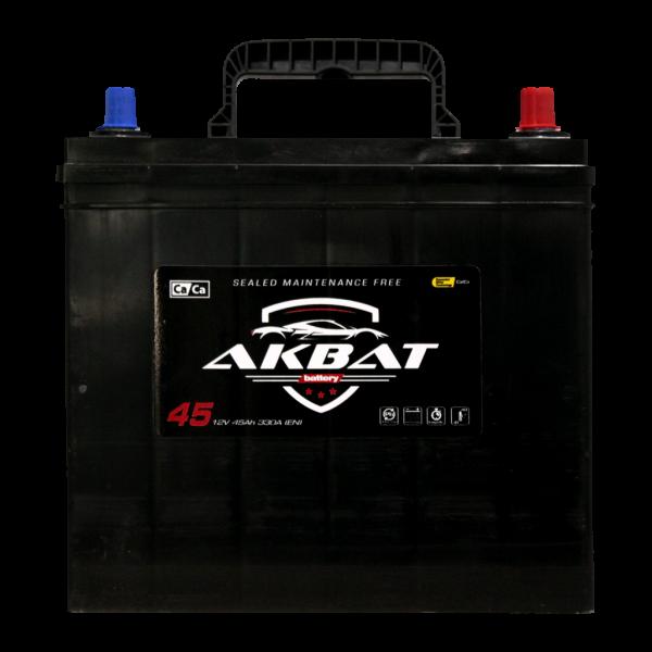 აკუმულატორი AKBAT 45 ა*ს JIS მარჯ.