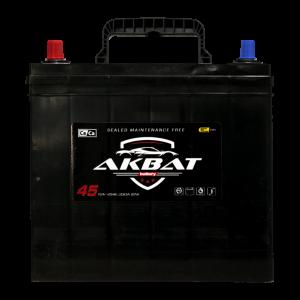 აკუმულატორი AKBAT 45 ა*ს JIS მარც.
