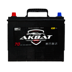აკუმულატორი AKBAT 75 ა*ს მარჯ.