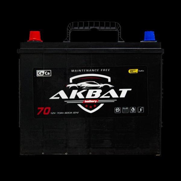 აკუმულატორი AKBAT 70 ა*ს JIS მარც.