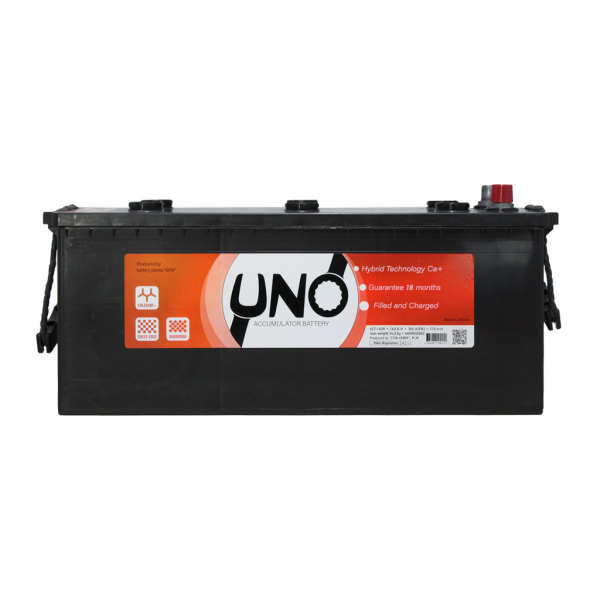 აკუმულატორი UNO 140 ა*ს R+
