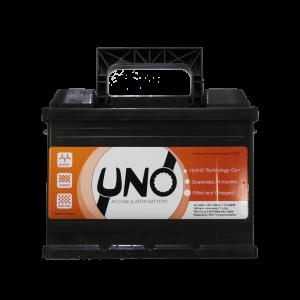 აკუმულატორი UNO 60 ა*ს R+