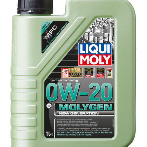 Molygen New Generation 0W-20 1L