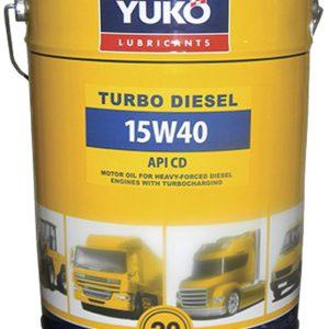 ძრავის ზეთი YUKO TURBO DIESEL 15W40 CD/SF 20L