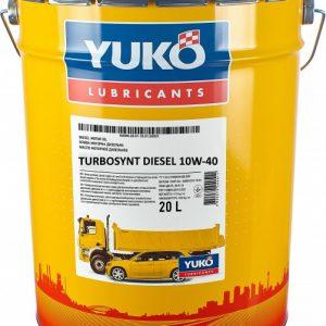 ძრავის ზეთი YUKO TURBOSYNT DIESEL 10W40 API CF-4/SG 20 L