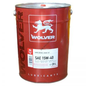 Wolver TURBO POWER SAE 15W-40 20L