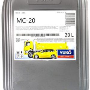 ძრავის ზეთი YUKO MC-20 (CB 50) 20L