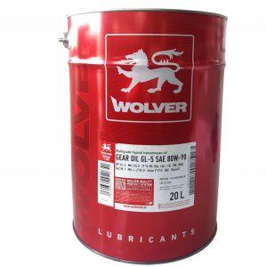 Wolver MULTI/H HYPOID GEAR OIL GL SAE 80W-90 20L