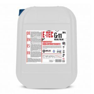 Antifreeze concentrate Glycsol Gt11 Glycsol Gt11 ლურჯი E-TEC 20 L