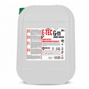 Antifreeze concentrate Glycsol Gt11 Glycsol Gt11 მწვანე E-TEC 20 L